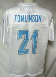 San Diego Chargers Women 2XL Reebok Screened Tomlinson #21 Jersey A1 2732