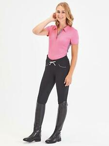 BUSSE Reitleggings LISSY Damen Reit Leggings Reithose Grip-Silicon-Vollbesatz