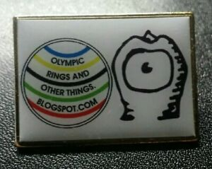 Olympic Pin: London Olympic Pin Olympic Rings And Other Things Olympic Media Pin