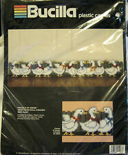 Bucilla Gaggle Of Geese Draftstop Wall Hanging Needlepoint Plastic Canvas Kit