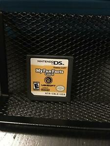 My Fun Facts Nintendo DS Tested & Working Authentic
