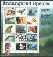 SC#3105 - 32c Endangered Species Sheet of 15 MNH