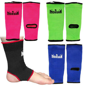 Morgan Sports - Ankle Protectors (Pair) - Boxing MMA Muay Thai - 5 Sizes