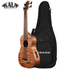 Kala U-BASS Exotic Mahogany Left Handed Acoustic Electric Satin Finish + Gig Bag