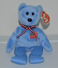 AMERICA Ty Beanie Baby 911 Memorial Bear September 11, 2001