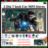 7''2 DIN Touch screen Autoradio Link Specchio Bluetooth AUX/TF/FM/USB Stereo MP5