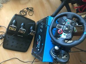 Logitech Driving Force G29 Wheel and Shifter