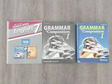 Abeka 7th Grade Grammar and Composition I: Teacher Key, Quiz & Test Key, Guide