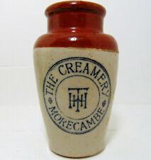 Morcambe Creamery  Lancashire Cream Pot c1900's