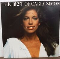The Best of Carly Simon 33RPM 6E-109-A SP 1975 Elektra records   010817LLE
