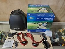New listing PetSafe Stay & Play Wireless Fence For Stubborn Dogs Pif00-13663 Used & Tested