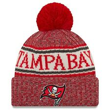 Tampa Bay Buccaneers New Era 2018 NFL Sideline Cold Weather Official Sport Knit