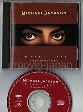 MICHAEL JACKSON In The Closet Mixes Behind Door #2 JAPAN CD ESCA5611 w/PS  FreeS