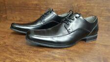 Rock & Republic Men's Black Leather Dress Loafer Shoes Size 10