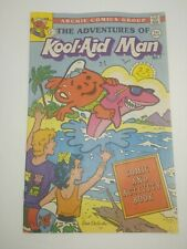 ARCHIE COMIC BOOK ADVENTURES OF KOOL-AID MAN #7 RARE Comic and Activity