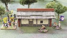 28MM COLONIAL CHINESE PEASANT HUT (Cream)  - PAINTED TO COLLECTORS STANDARD