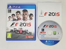 F1 2015 PS4 GAME VGC FAST FREE UK POST