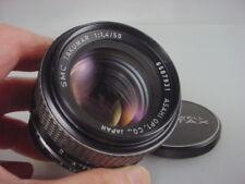 Pentax. SMC Takumar 50mm F 1.4 multi-coated Lens M42 Mt. Ex.