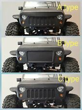 Angry bird eyes Grill mask for Axial SCX10 Jeep Rubicon body front bumper 1/10