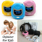 CE Children OLED Pulso Dedo oximetro Pulsioximetro Pulse oximeter Pulsómetros