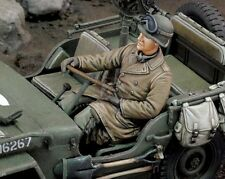 Royal Model 1/35 US Army Infantry Willys MB Jeep Driver WWII [Resin Figure] 660