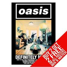 OASIS DD6 POSTER ART PRINT A4 A3 SIZE - BUY 2 GET ANY 2 FREE
