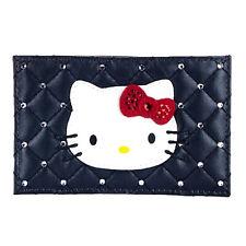 Swarovski hello kitty originale portacarte nero cristallo regalo natale donna