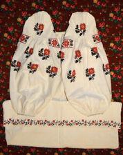 Ukrainian Vyshyvanka Hand Embroidered Dress Women Vintage Sorochka ウクライナ刺繍