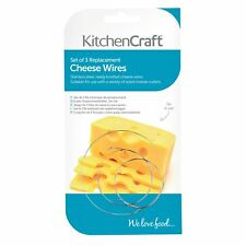 KitchenCraft Set of 3 Replacement Cheese Wires