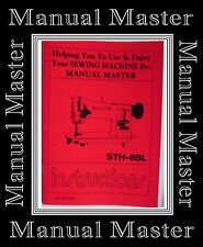 SEIKO STH-8BL Industrial Sewing Machine Instruction Manual Booklet