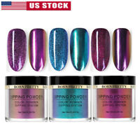 3 Boxes 10ml BORN PRETTY Dip Dipping Powder Chameleon Mirror Nail Starter Kit