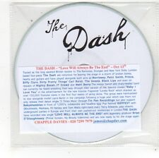 (FS714) The Dash, Love Will Always Be The End - DJ CD