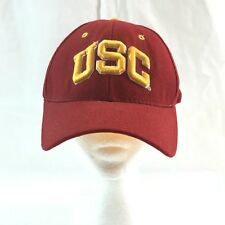 UNIVERSITY OF SOUTHERN CALIFORNIA USC TROJANS Fitted 7 1/2 Red HAT CAP