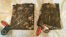 2 RANGER REALTREE YOUTH CAMO SHORT SLEEVE SHIRT LARGE NEW WITH TAGS NWT