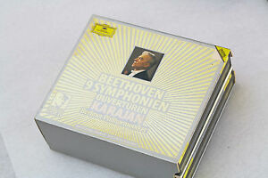 Karajan Gold Beethoven 1-9 Symphonies 6 CDs Berlin PO recorded in the 80s