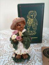 """Boyds Bear Figurine """"Daisy Bloomenbear"""" Premier Edition, 198/2400, Nib"""