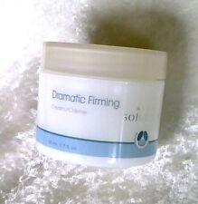 Dramatic Firming Cream Avon Solutions 1.7 oz Smooths Face & Neck Vitamin E A  +
