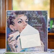 JUDY GARLAND The Letter NM! Mono w/ John Ireland with LETTER ATTACHED. Gatefold