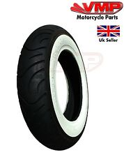 Tyre 3.50-10 Scooter White Wall Retro Tyres Tire 51 J Speed Rating