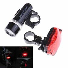 mountain bike 5led headlight black  butterfly tail light bicycle accessories KQ