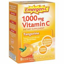 Emergen-C 1000 mg Vitamin C Drink Mix Packets Tangerine 10 ea