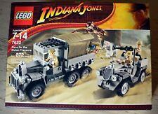 Lego Indiana Jones #7622 Race For  Stolen Treasure Never opened - Sealed in box!