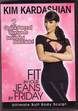 Kim Kardashian Fit In Your Jeans By Friday...Ultimate Butt  DVD..*NEW*.Region 4.