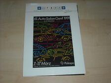 56538) Cadillac Seville Pressemappe 1992