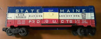 LIONEL #6464-275 STATE OF MAINE BOX CAR