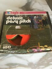 Vintage 1970's Eagle Posy Pitch Backyard Ring Toss Style Game