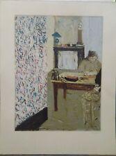 Edouard VUILLARD (1868-1940) Lithographie Scène d'intérieur P1385