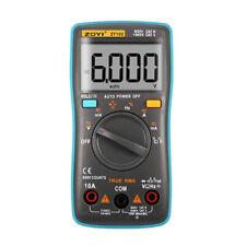 Zoyi Zt102 Digital Auto Range Portable Multimeter 6000 Counts Backlight Ammete