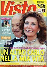 Visto.Sophia Loren,Michelle Hunziker,Brigitte Bardot,Daniele Liotti,D.Mengacci,i