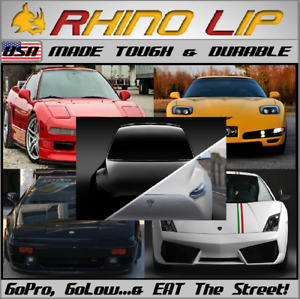 TESLA Model-S Model-X Model-3 Roadster RhinoLip® Flexible Rubber Chin Lip Trim